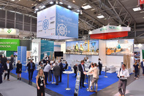 Messestand auf transport logistic