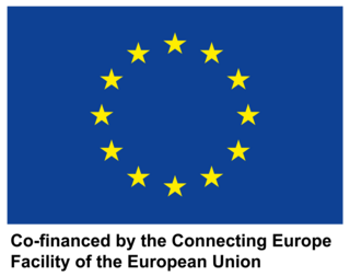 EU Logo Connecting Europe Facility