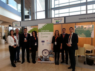 Danube Business Corner auf der Barge to Business 2014